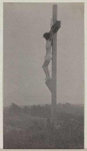 'The Crucfixion', c 1898. : Stock Photo