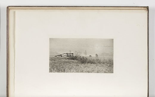 'A Winter's Sunrise', 1895. : Stock Photo