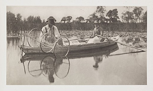 Stock Photo: 1895-41035 'Setting The Bow-net', 1886.
