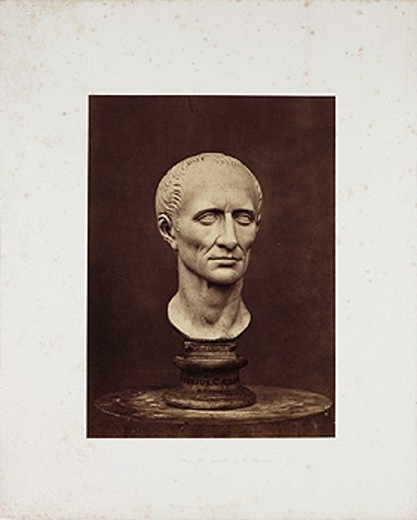 'Julius Caesar', c 1857. : Stock Photo