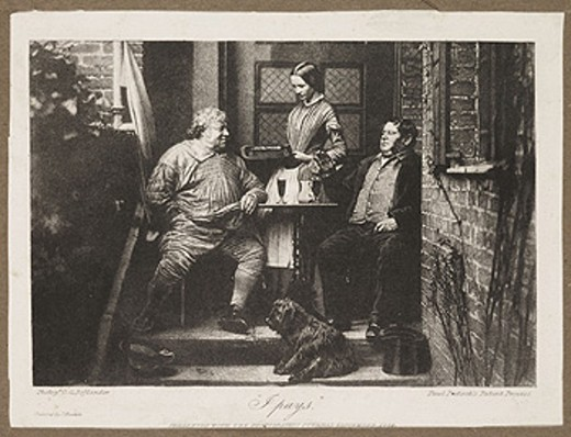'I pays', 1858. : Stock Photo