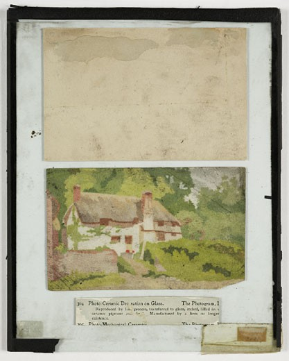 A thatched cottage, c. 1899. : Stock Photo