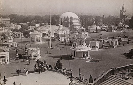 Crystal Palace Festival of Empire, c 1911 : Stock Photo