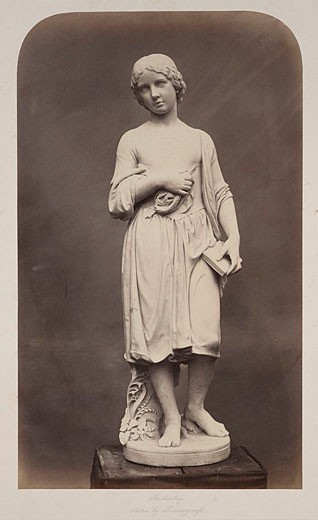 'Industry  Statue by Thorneycroft', 1854-1858 : Stock Photo