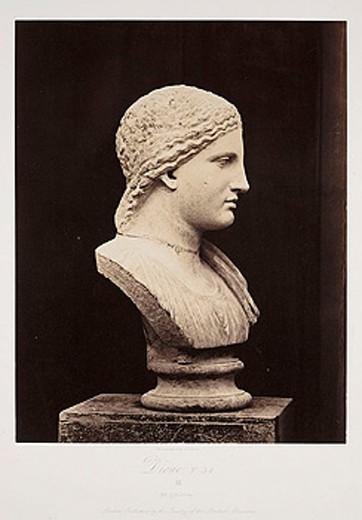 'Dione  T 54', 1854-1858 : Stock Photo