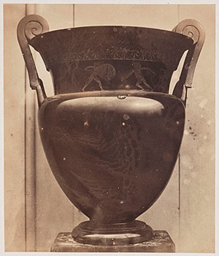 Stock Photo: 1895-43822 An urn, 1854-1858