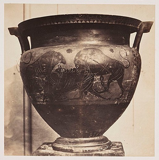 An urn, 1854-1858 : Stock Photo