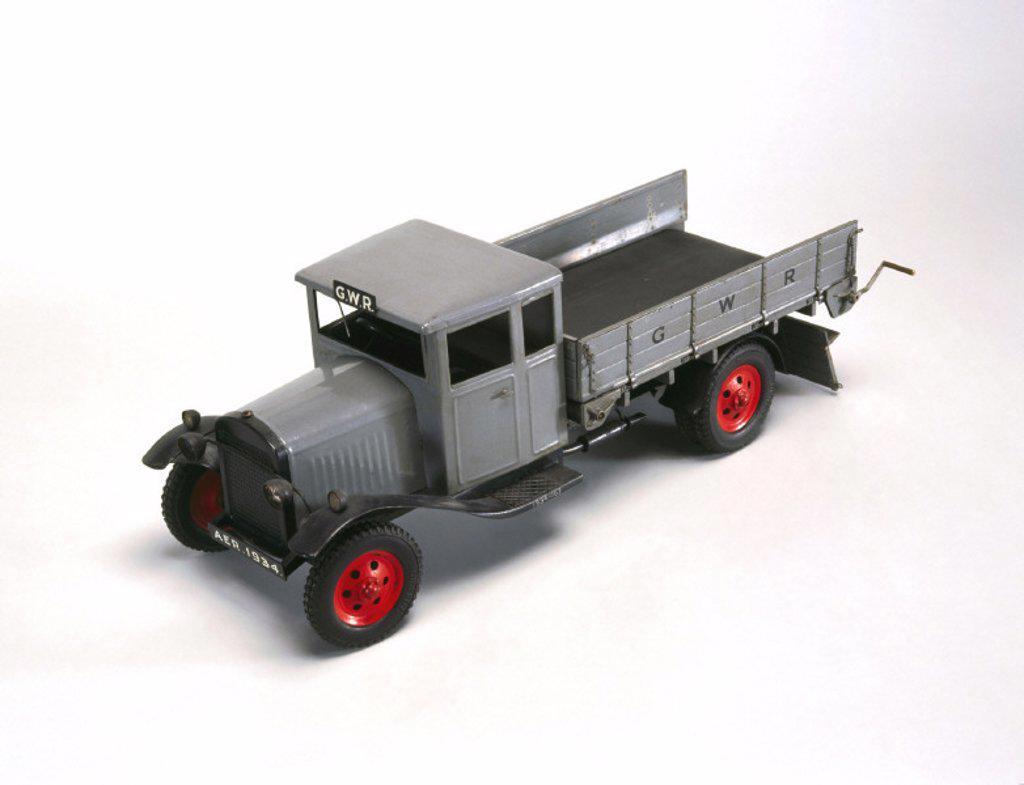 GWR lorry, c 1930. : Stock Photo