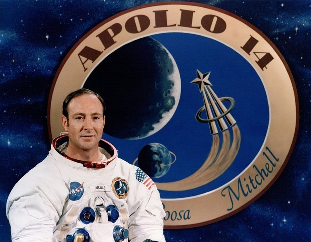 Apollo 14 astronaut Ed Mitchell, December 1970 : Stock Photo