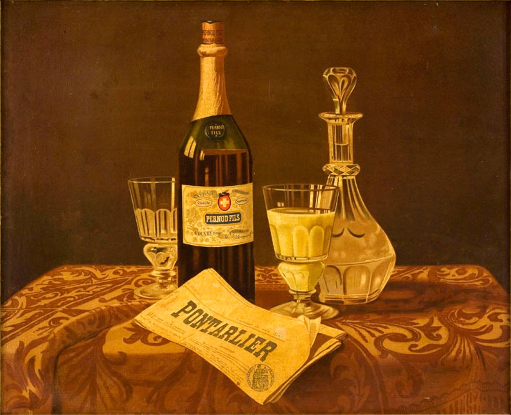 'Pernod Fils', c 1900. : Stock Photo