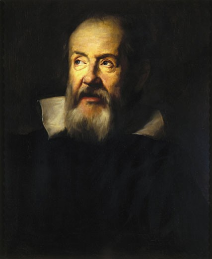 Galileo Galilei, Italian astronomer and physicist, 1635. : Stock Photo
