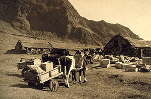 Tristan da Cunha, 1939. : Stock Photo