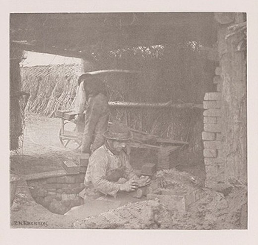 Stock Photo: 1895-46477 'Brickmaking', 1888