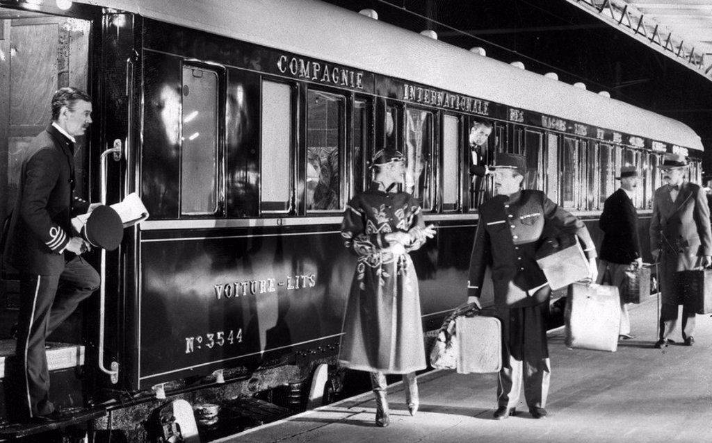 Stock Photo: 1895-47483 The 'Orient Express', 1982