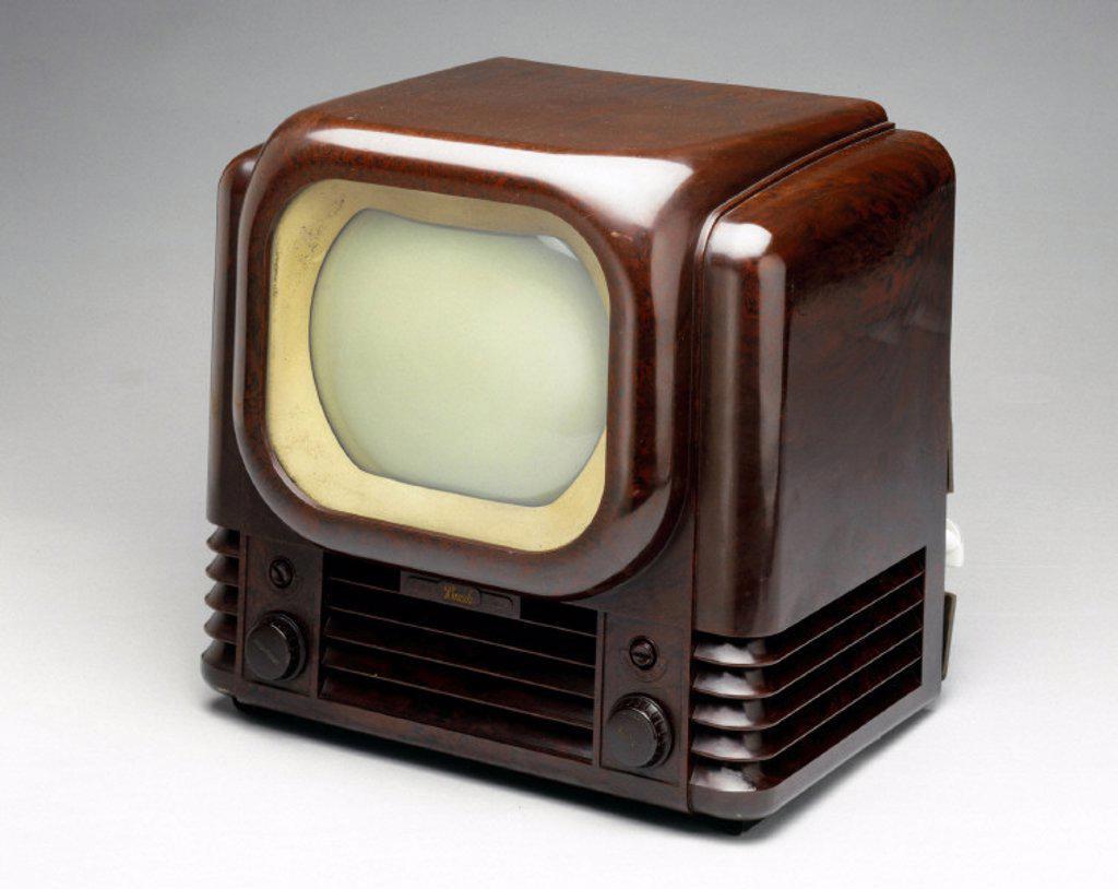 Bush television receiver, type TV22, 1950. : Stock Photo