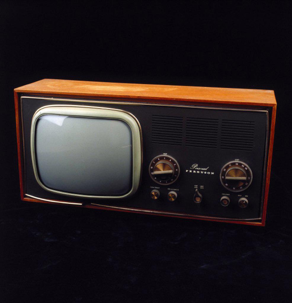Ferguson ´Personal´ television receiver, model 3629, 1962. : Stock Photo