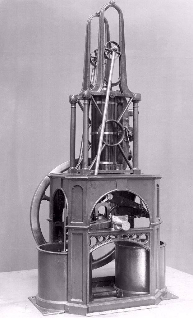 Stock Photo: 1895-6823 Maudslay´s table engine, 1807.