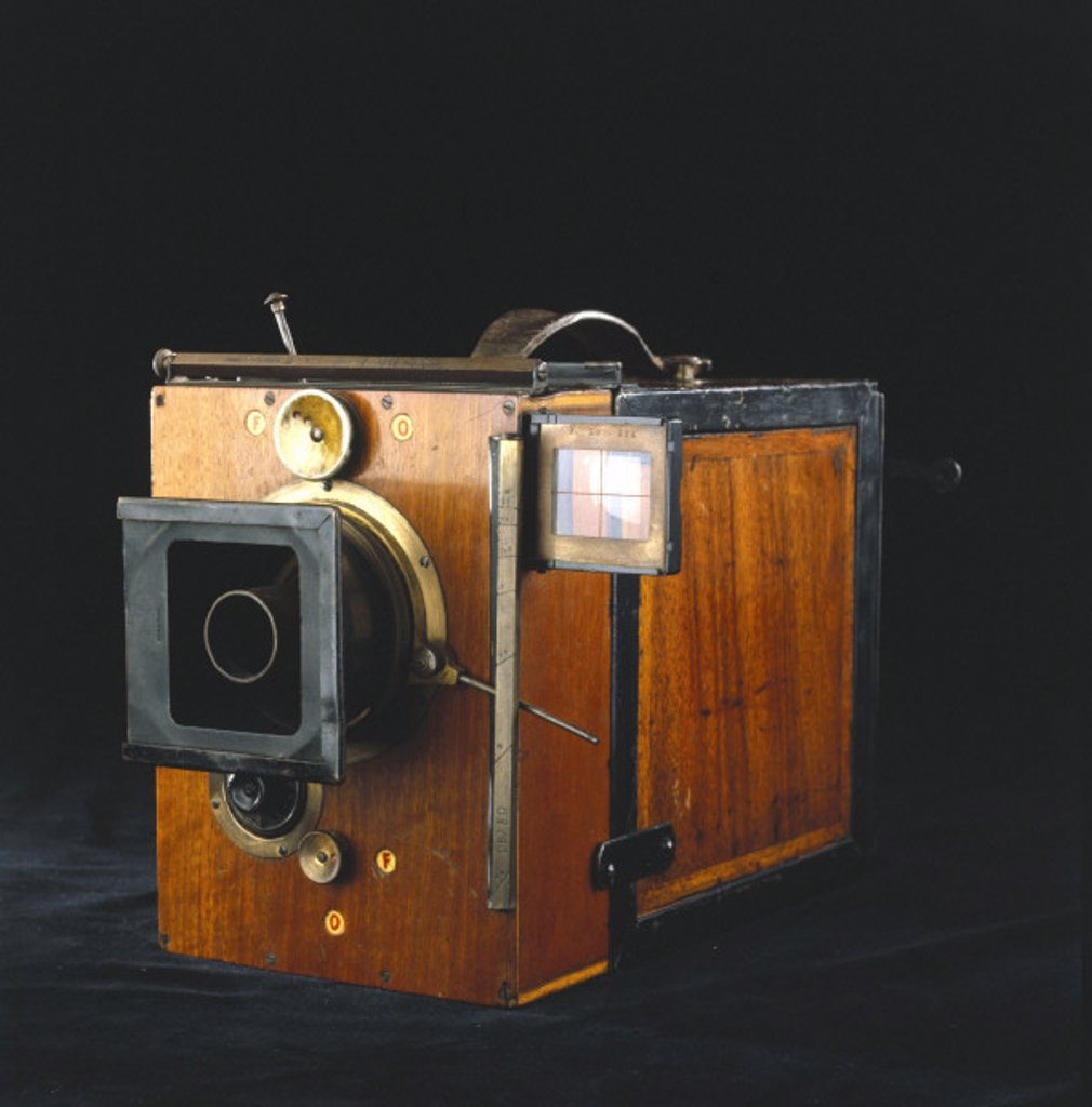 Debrie Parvo 35mm cine camera, 1908. : Stock Photo