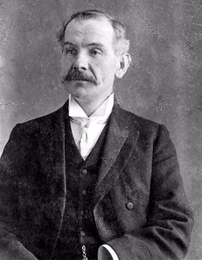 Stock Photo: 1895-9701 Birt Acres, pioneer film maker, late 19th century.