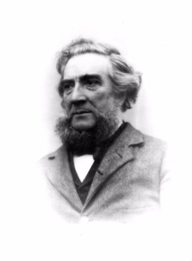 Patrick Adie, instrument maker, late 19th century. : Stock Photo