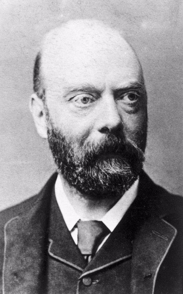 Shelford Bidwell, inventor, late 19th century. : Stock Photo