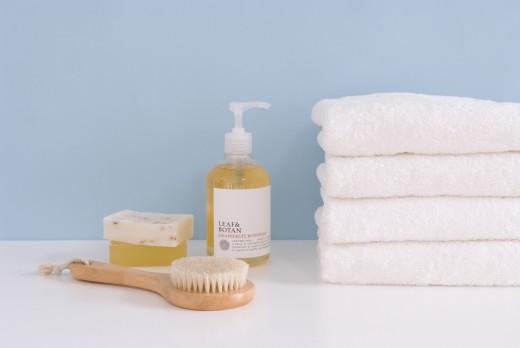 Body care goods : Stock Photo