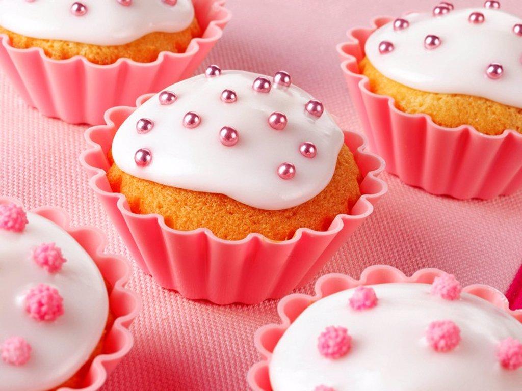 Cupcakes Fairy Cakes : Stock Photo