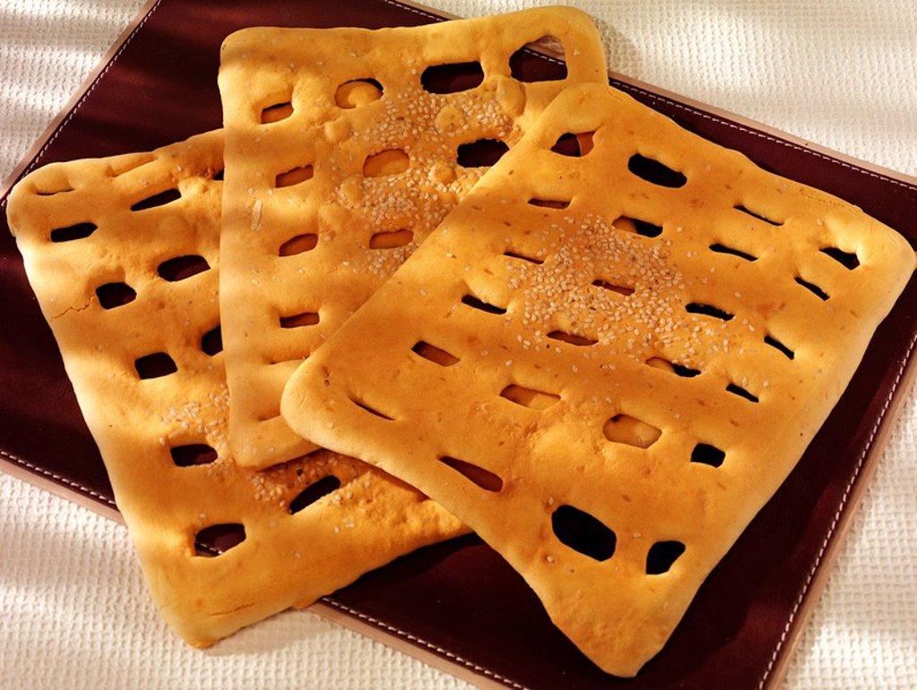 Stock Photo: 1898-15039 Iranian / Persian Sweet Bread