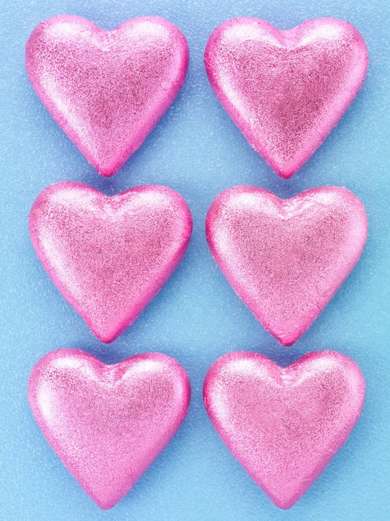 Chocolate Hearts : Stock Photo