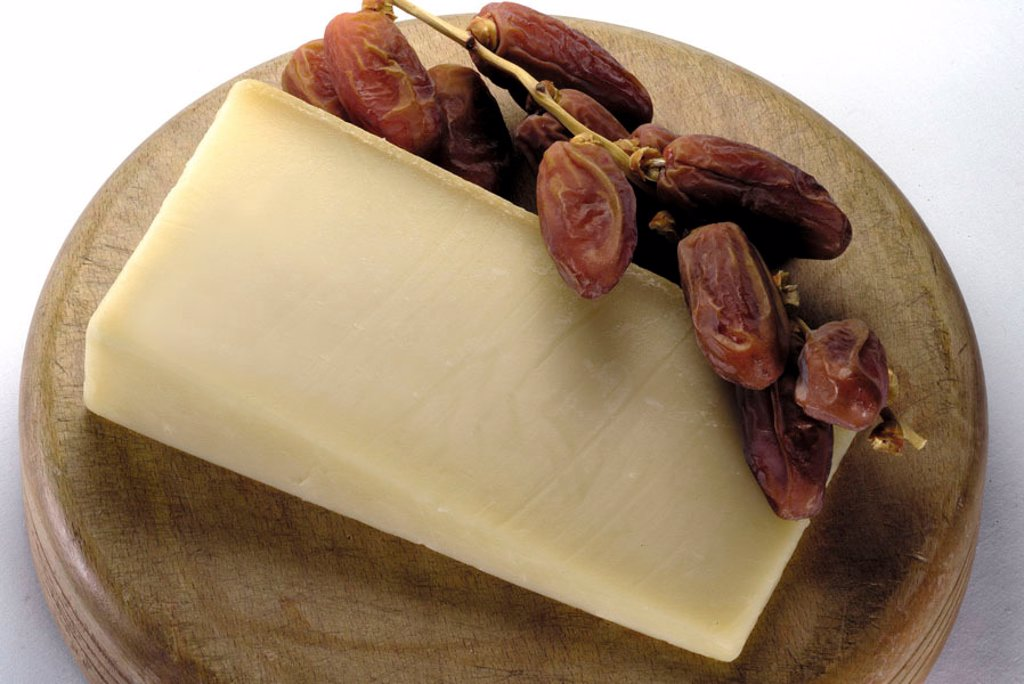 Stock Photo: 1898-16099 Gruyere cheese