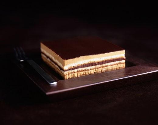 Chocolate Dessert : Stock Photo