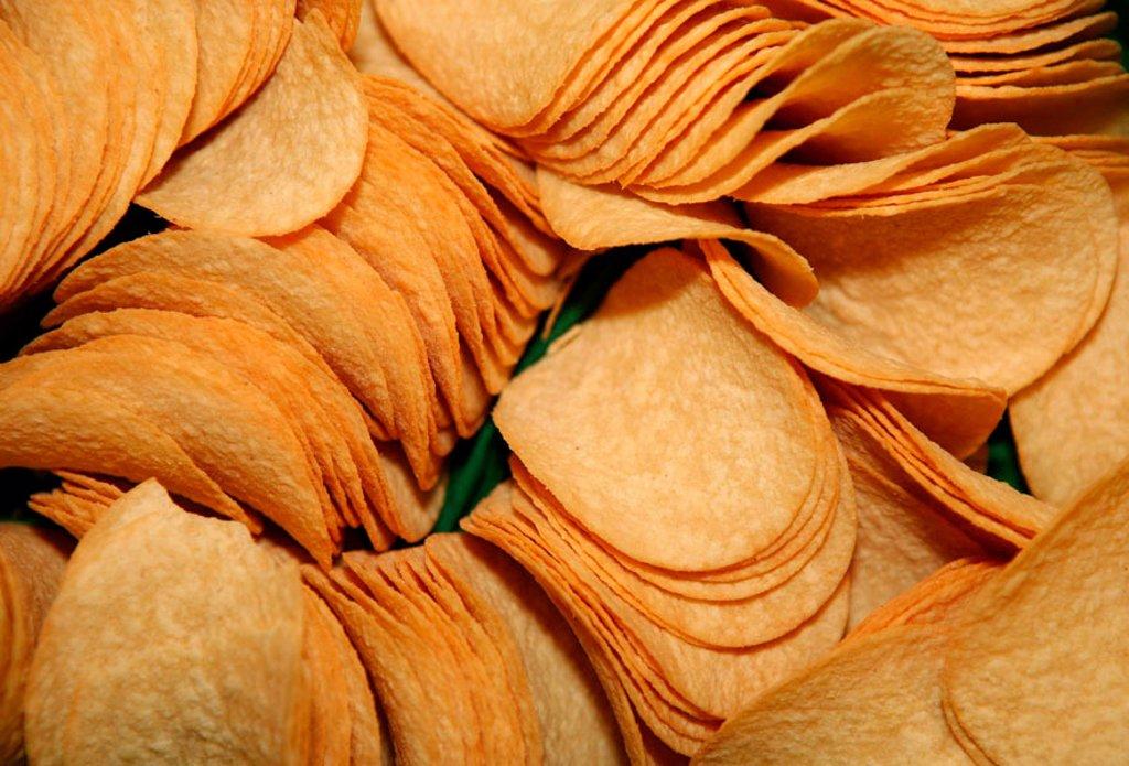 Crisps : Stock Photo