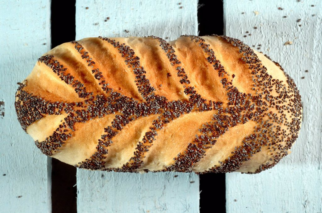 Bread loaf from a baker : Stock Photo