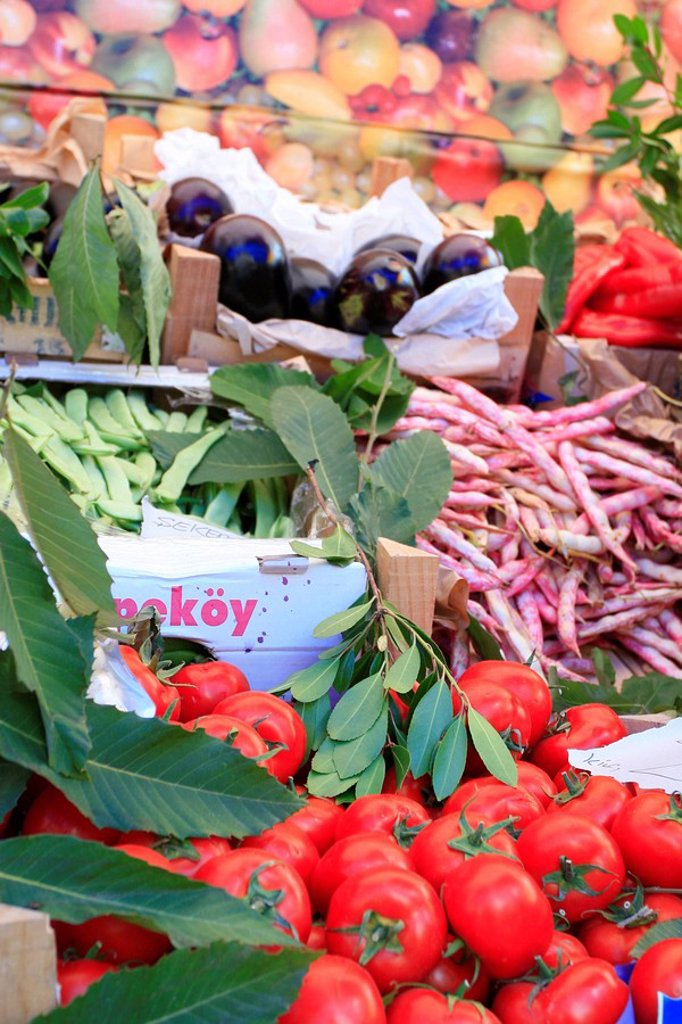 Stock Photo: 1898-21214 Vegetable market
