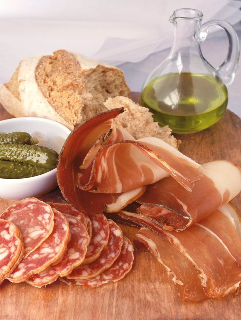 Charcuterie on Board : Stock Photo