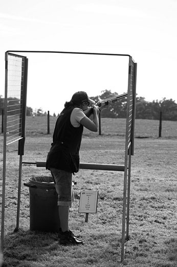 Midland Game Fair 2007 _ Shooting Competition : Stock Photo