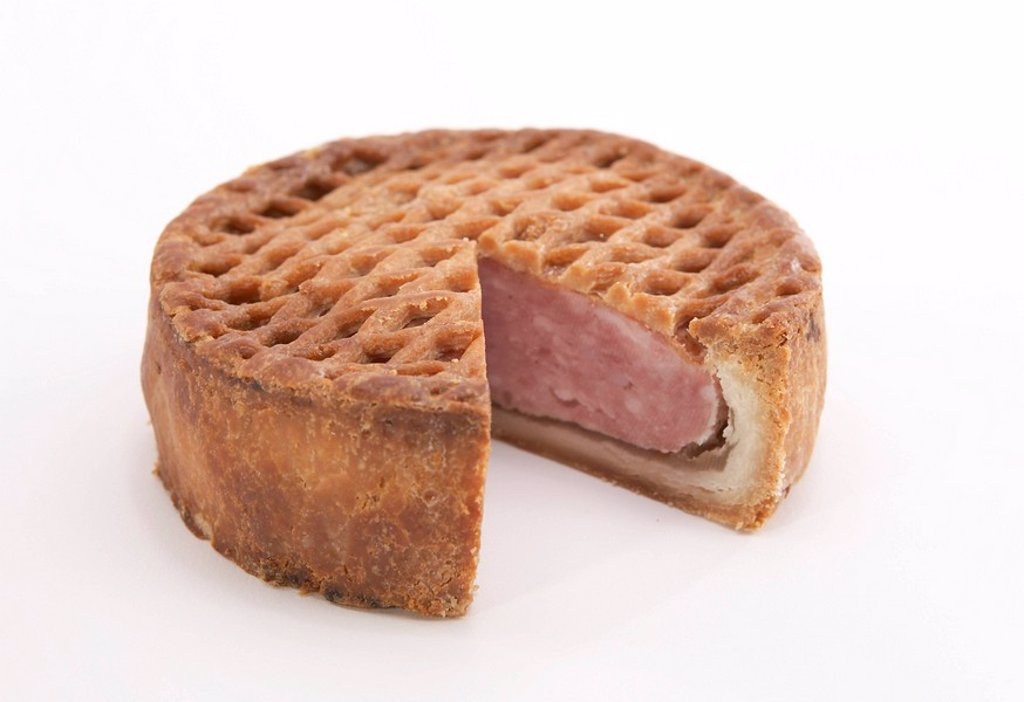 Lattice Pork Pie : Stock Photo