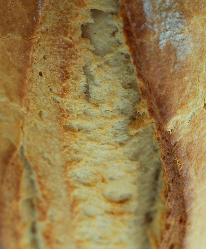 Crust of bread : Stock Photo