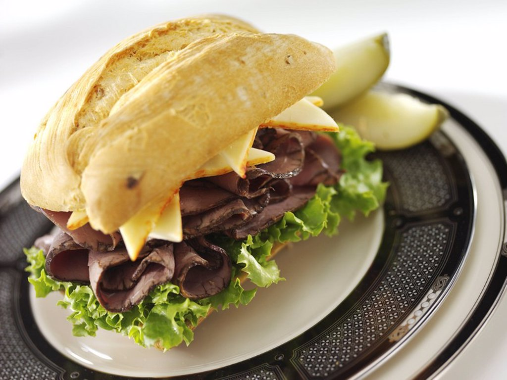 Stock Photo: 1898-26802 Beef Sandwich