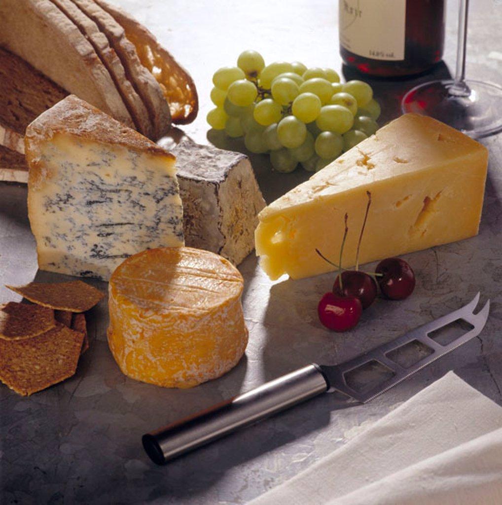 Cheeseboard : Stock Photo