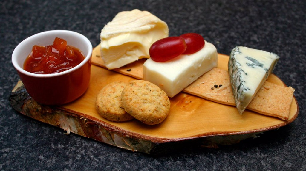 Cheese board : Stock Photo