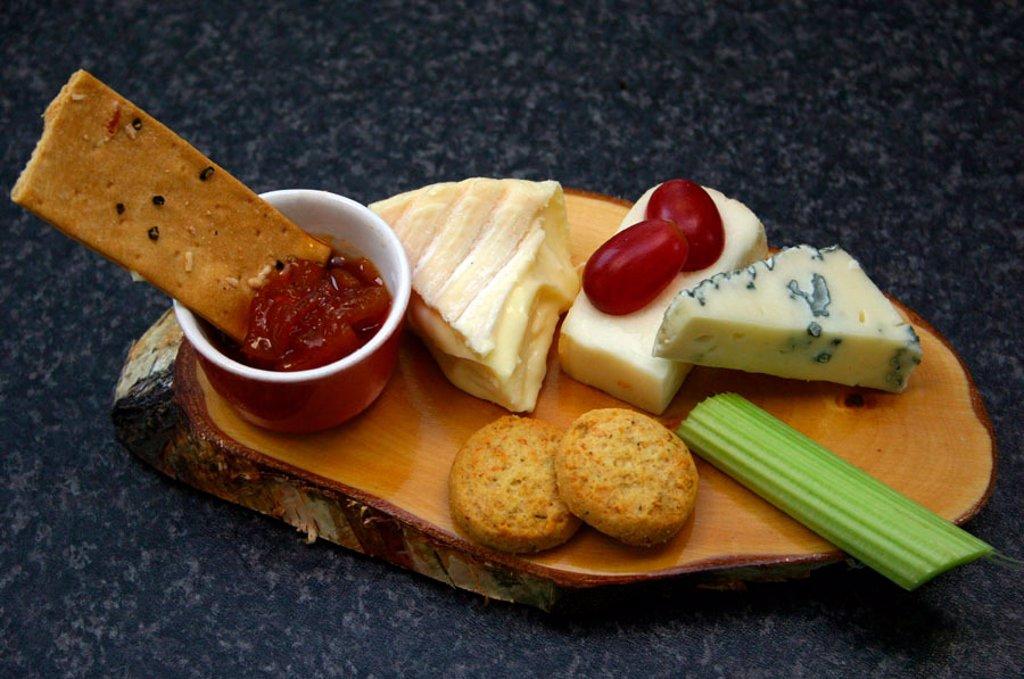 Stock Photo: 1898-28060 Cheese board