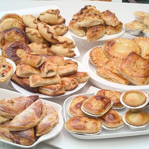 Mixed Pies : Stock Photo