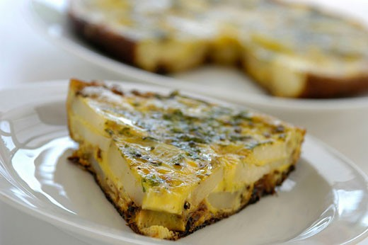 Spanish tortilla : Stock Photo