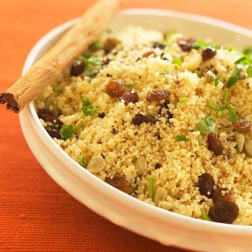 Spicy couscous : Stock Photo