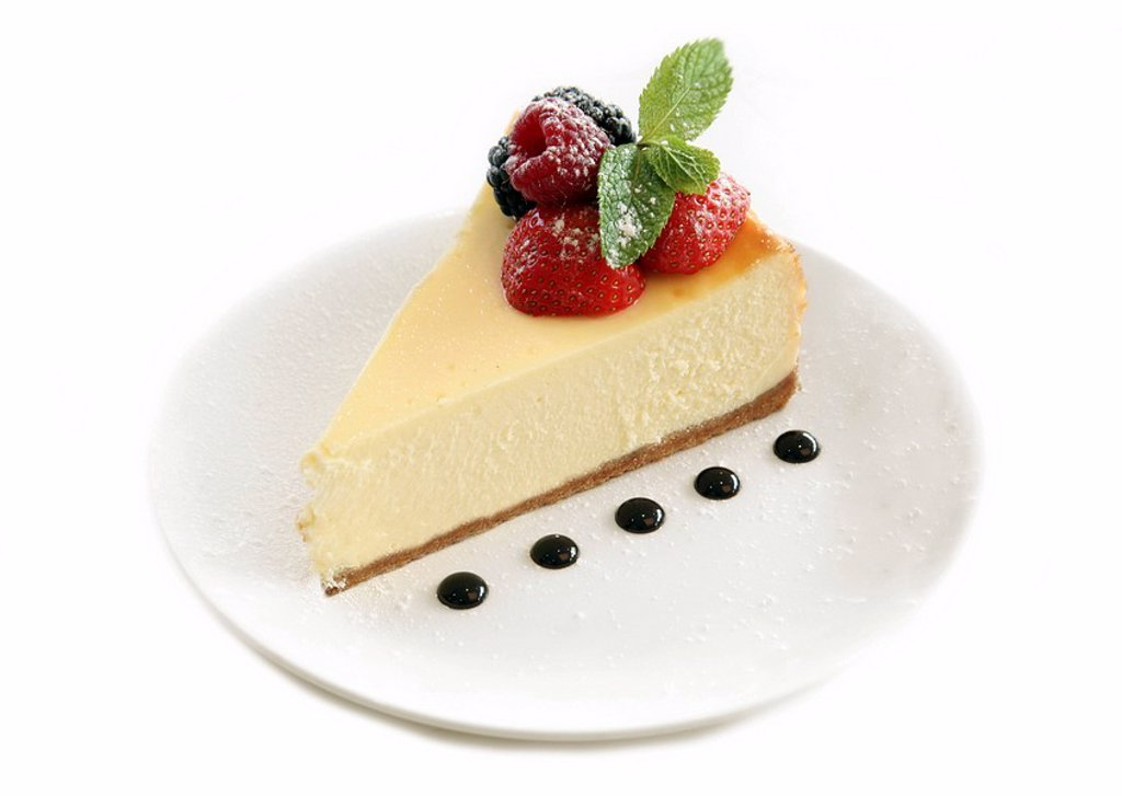 New York cheese cake : Stock Photo