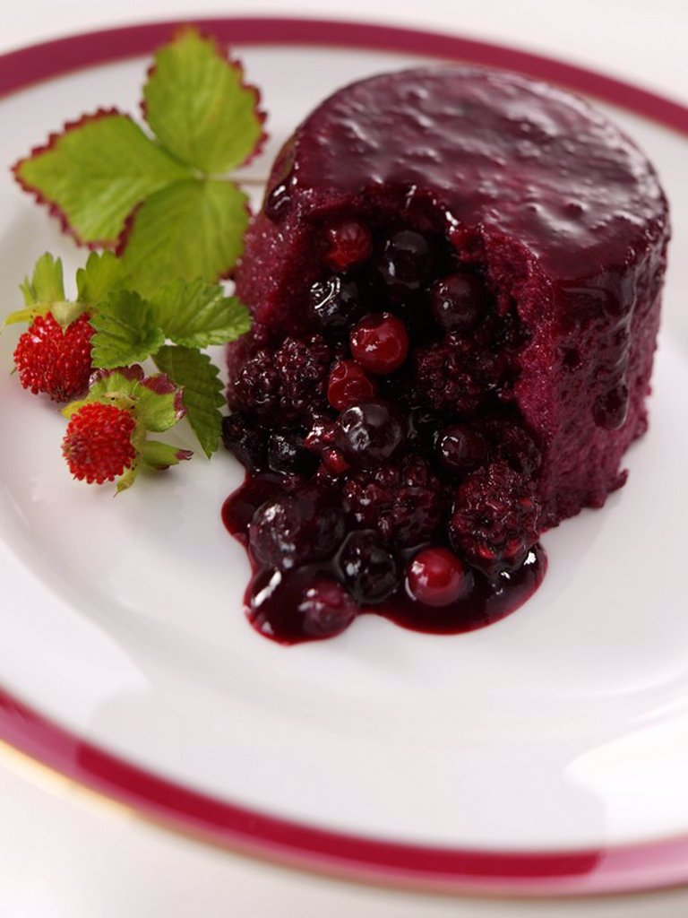 Stock Photo: 1898-33998 Summer Pudding