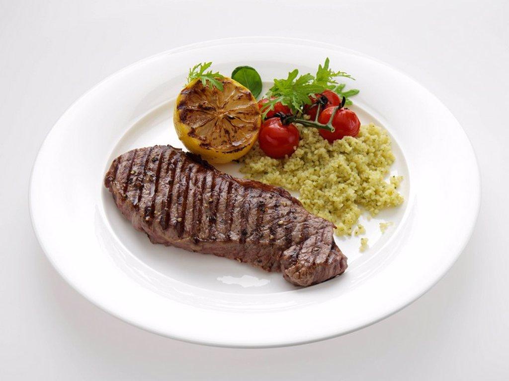Sirloin Steak : Stock Photo