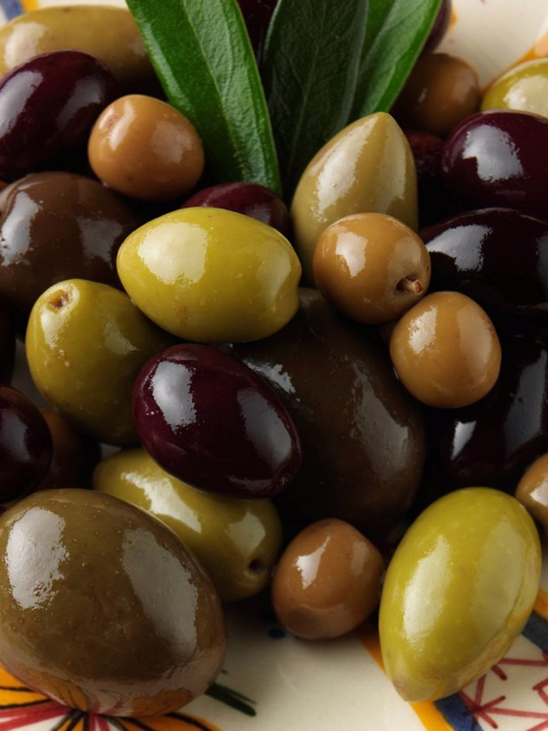 Assorted Olives : Stock Photo