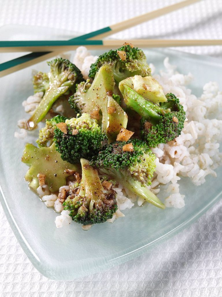 Stock Photo: 1898-36131 Broccoli Stir Fry